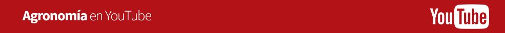 Agronomía en YouTube