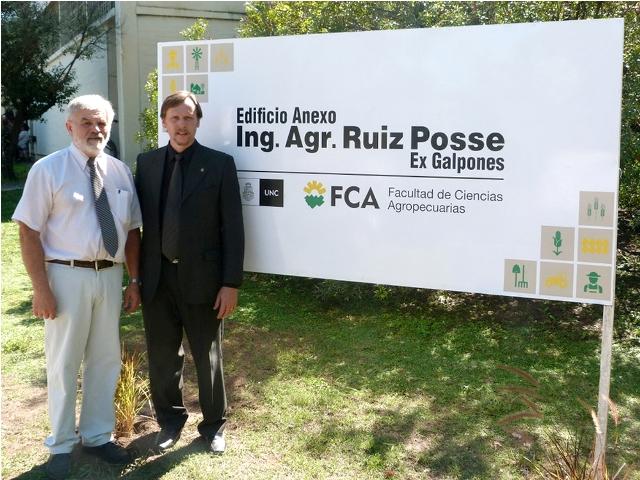 """Ing. Agr. M.S.c Eduardo Ruiz Posse"", el nuevo nombre de Galpones"