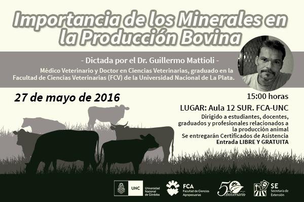 Importancia de los minerales en la producción bovina