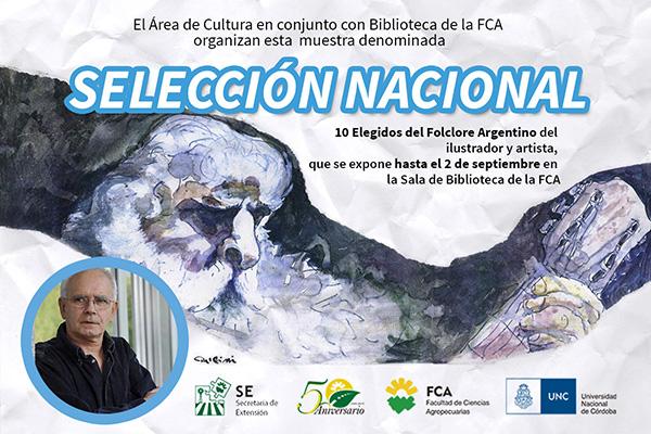 La Biblioteca de la FCA-UNC recibe a la obra de Juan Delfini