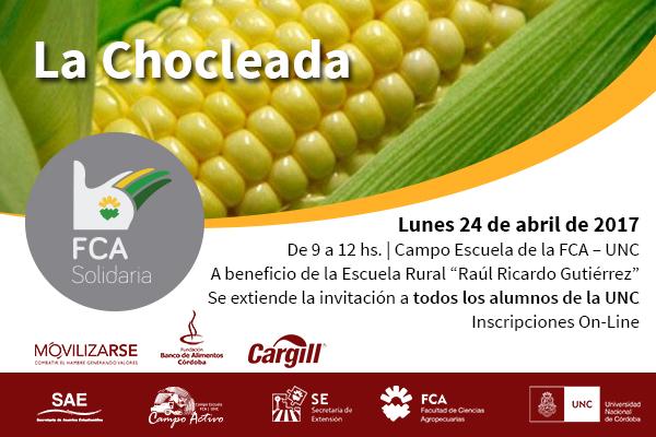 Se viene la Chocleada Solidaria 2017 en el Campo Escuela