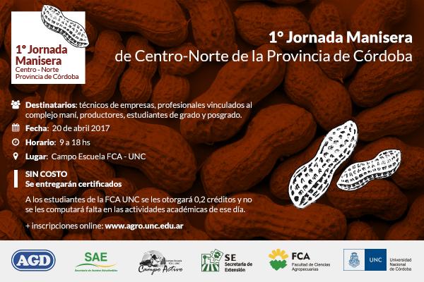 1° Jornada Manisera de Centro-Norte de Córdoba en el Campo Escuela