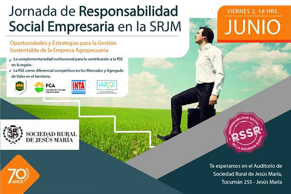 Jornada sobre Responsabilidad Social Empresaria en la SRJM