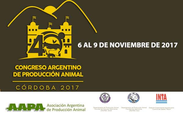 Llega a Córdoba el 40° Congreso Argentino de Producción Animal