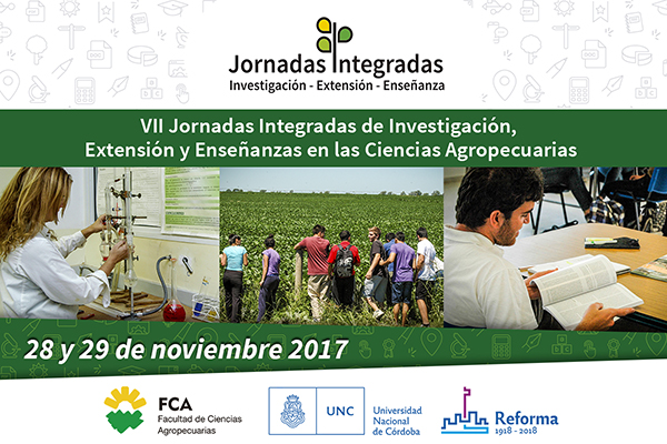 VII Jornadas Integradas de Investigación, Extensión y Enseñanza en la FCA