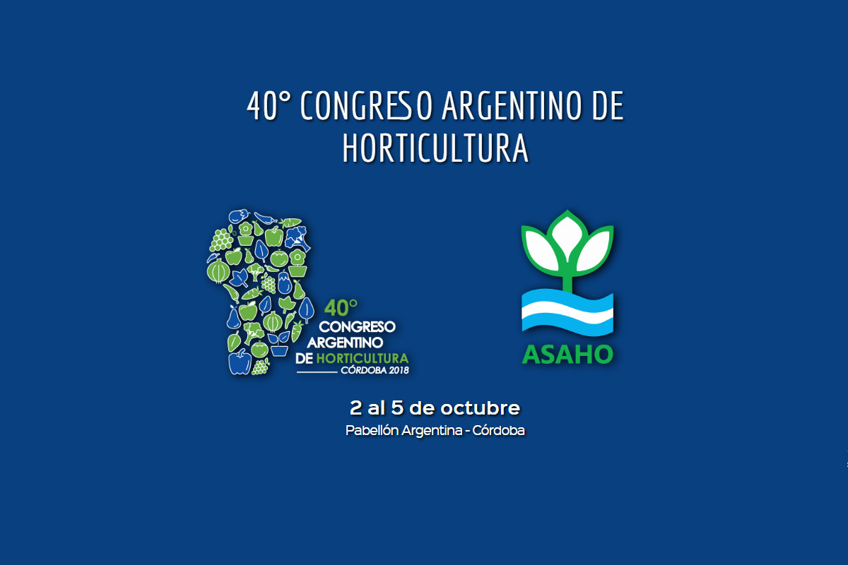 En octubre se realizará el 40° Congreso Argentino de Horticultura