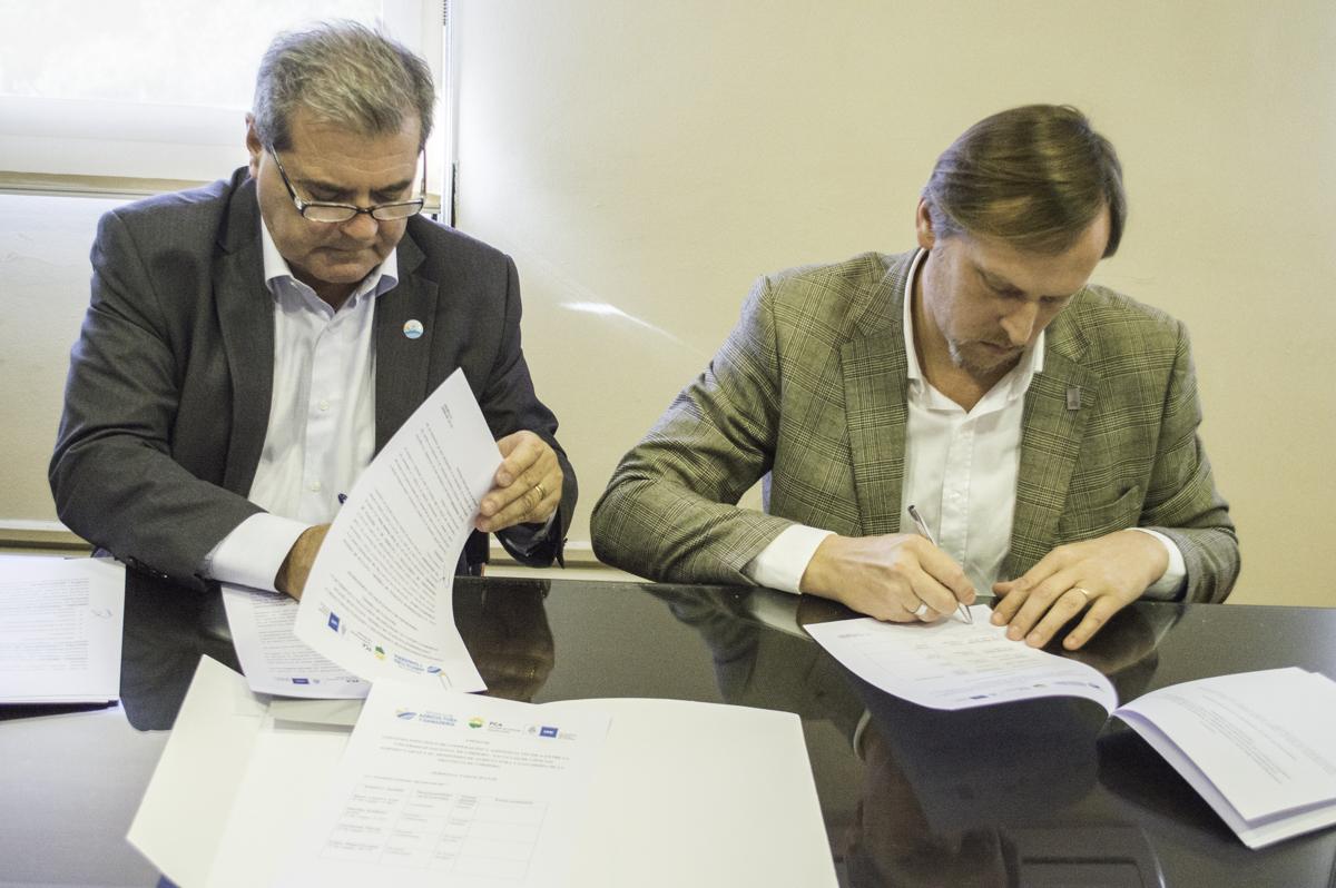 La FCA firmó un Convenio de Cooperación y Asistencia Técnica con Agricultura