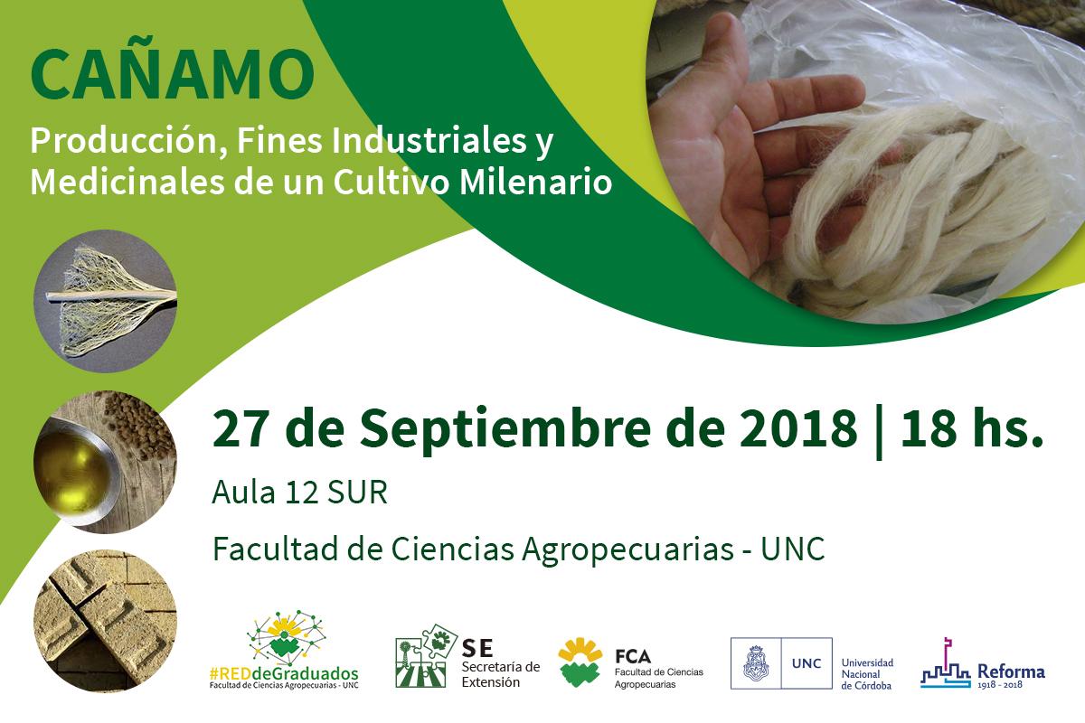"""CAÑAMO """"Producción, fines industriales y medicinales de un cultivo milenario""""."""