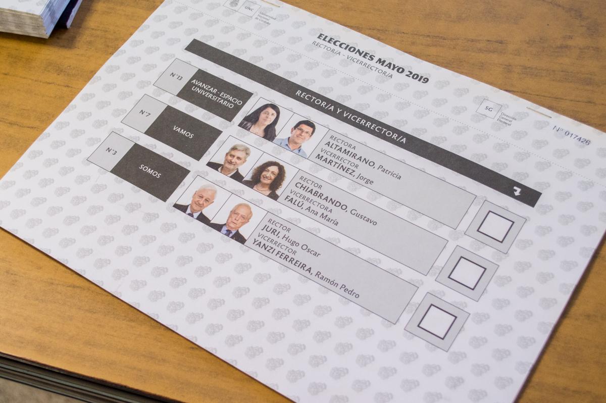 Hugo Juri fue reelegido como rector de la UNC a través del voto directo