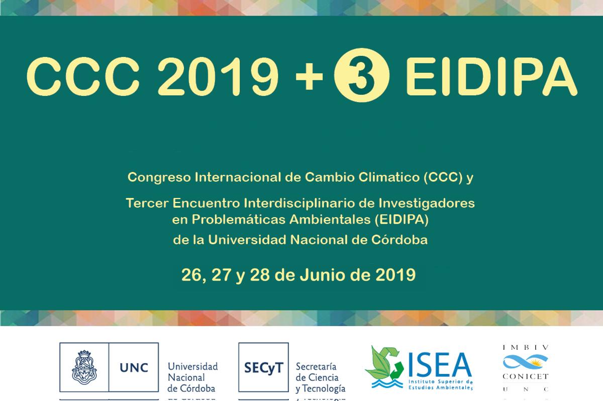 III Encuentro Interdisiciplinario de Investigadores en Problemáticas Ambientales y Congreso Internacional de Cambio Climático
