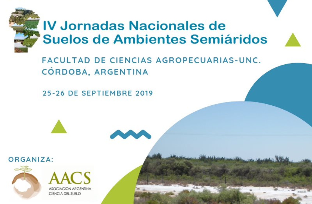 IV Jornadas Nacionales de Suelos de Ambientes Semiáridos