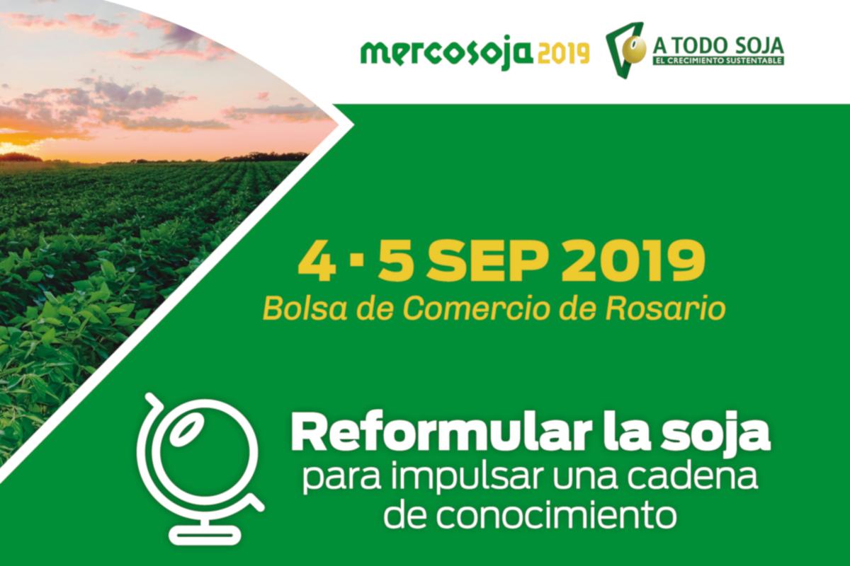 Invitan a presentar trabajos científicos en MERCOSOJA 2019