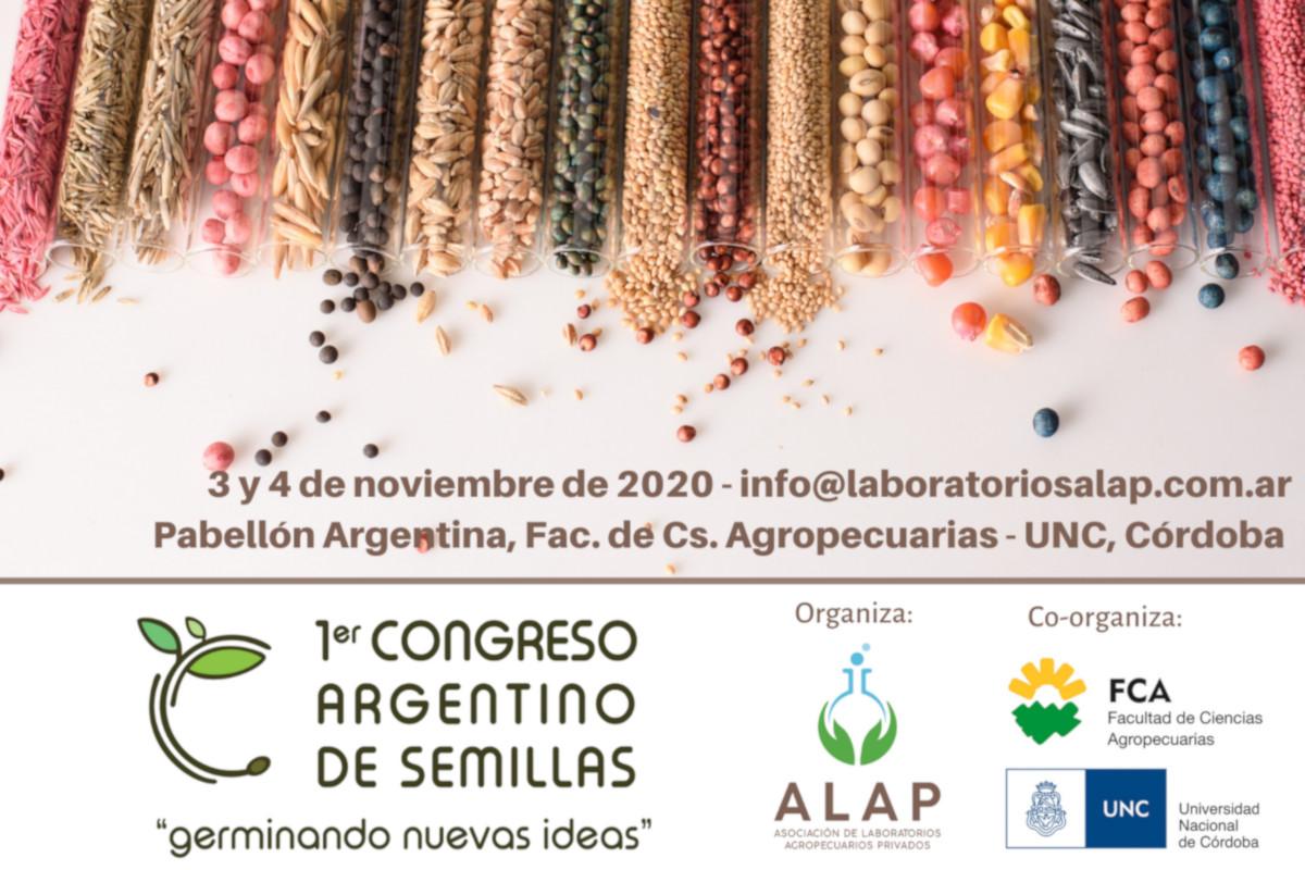 En noviembre se realizará el 1er Congreso Argentino de Semillas