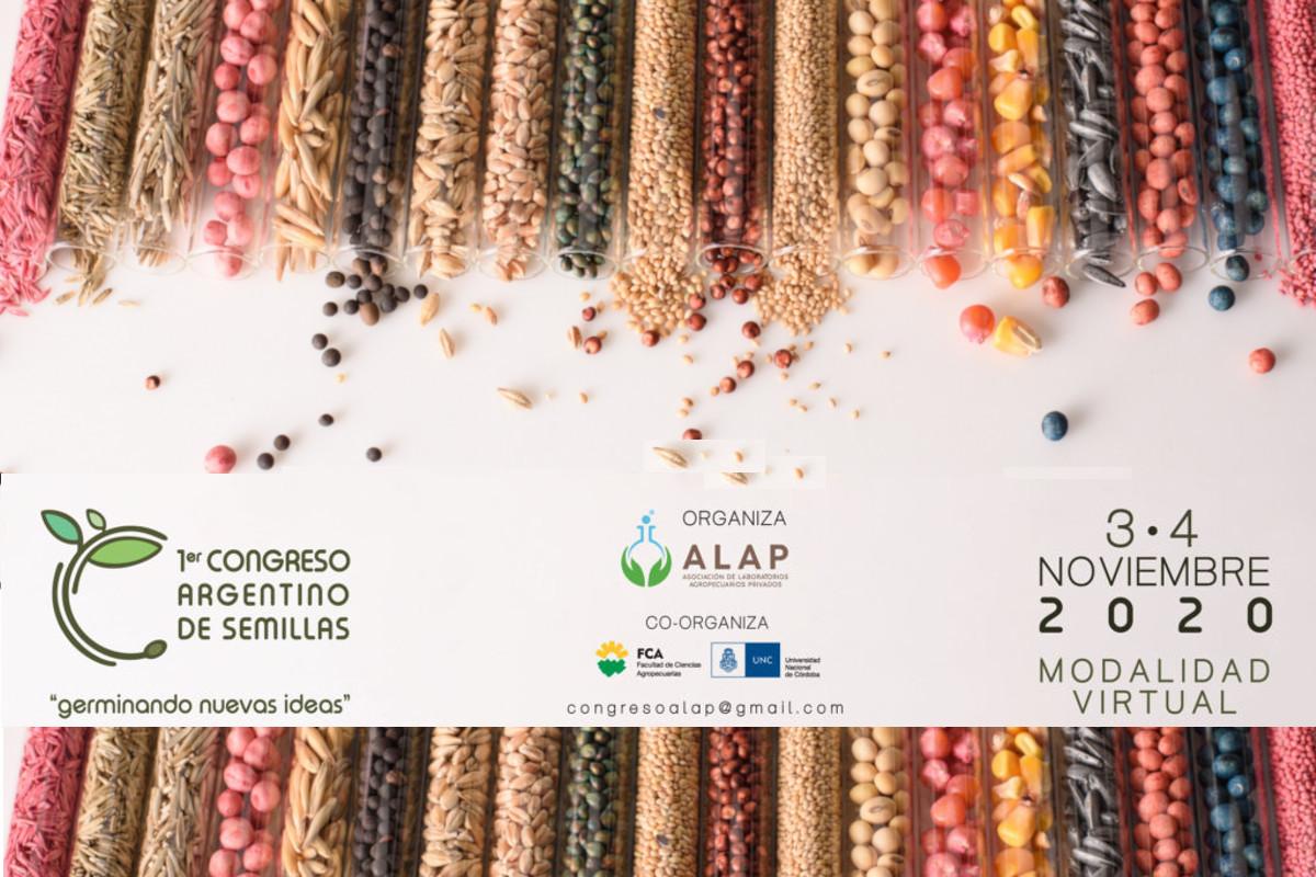El Primer Congreso Argentino de Semillas será virtual