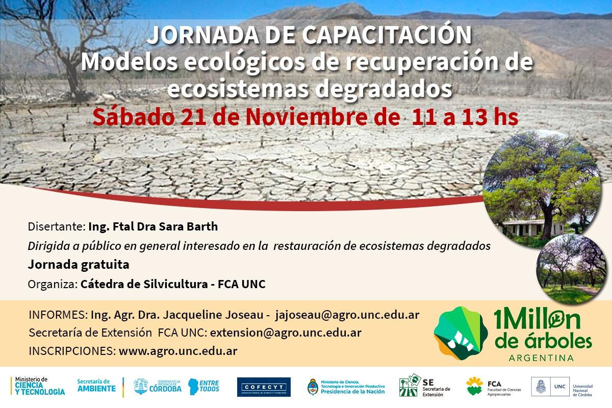 Modelos ecológicos de recuperación de ecosistemas degradados