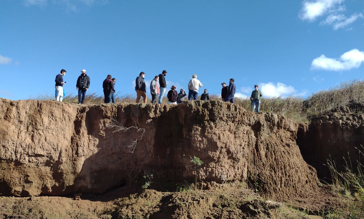 Estudiantes de la Especialización en Gestión de Cuencas Hidrográficas realizaron prácticas en Corralito