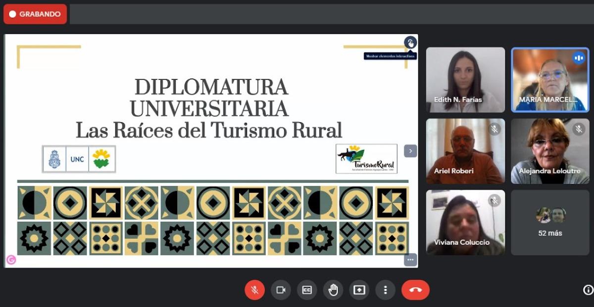 """Acto de inicio de la Diplomatura Universitaria: """"Las Raíces del Turismo Rural"""""""