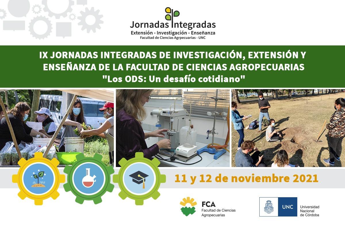 IX Jornadas Integradas de Investigación, Extensión y Enseñanza