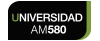 Logo Universidad AM 580