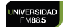 Logo Universidad FM 88.5