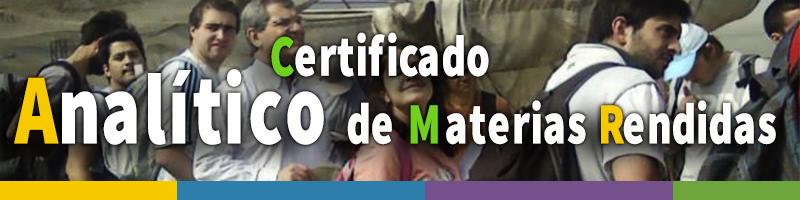 banner certificado analitico