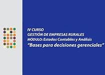 IV Curso Gestión de Empresas Rurales. Módulo: Estados contables y Análisis