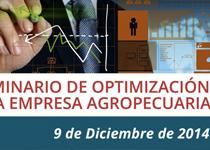 Iº SEMINARIO DE OPTIMIZACIÓN DE LA EMPRESA AGROPECUARIA