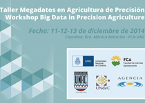 Taller Megadatos en Agricultura de Precisión | Workshop Big Data in Precision Agriculture