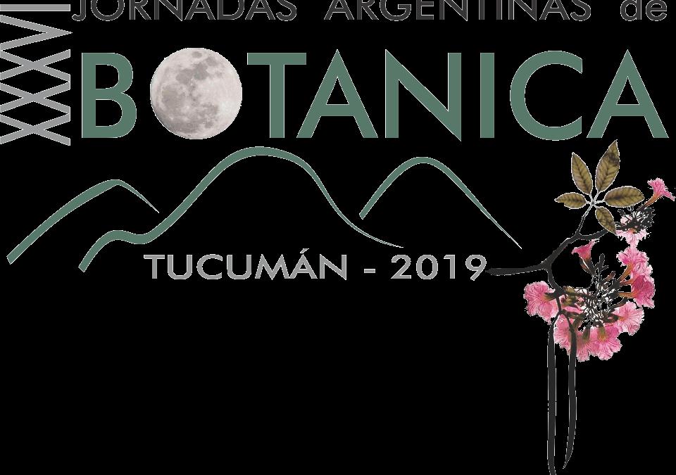 JORNADAS ARGENTINAS DE BOTÁNICA 2019
