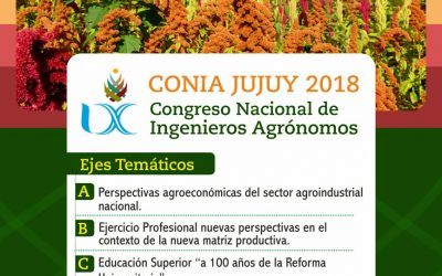 CONGRESO NACIONAL DE INGENIEROS AGRÓNOMOS