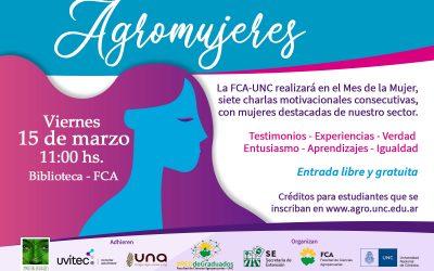 Agromujeres, en la FCA-UNC