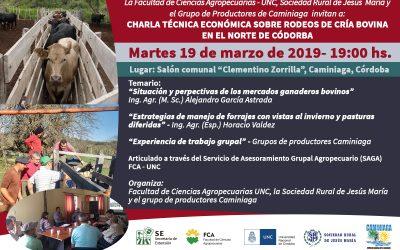 Técnica Económica sobre Rodeos de Cría Bovina en el Norte de Córdoba en Caminiaga